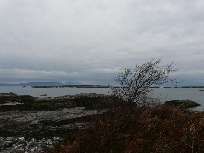 Arisaig bay from Rhu